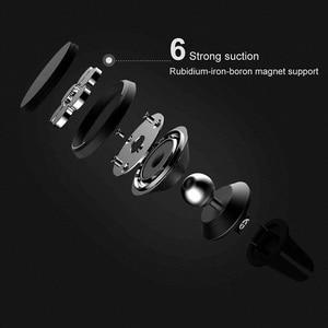 Image 4 - Original Xiao mi mi auto telefon halter set handy ring stents navigation halterung Magnetische saug stents 360 grad rotation