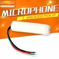 Coluna Alta Sensibilidade de Áudio Pick Up Mini CCTV Microfone Para Câmera de Segurança Áudio Vigilância DVR CCTV Monitor de Som Do Microfone