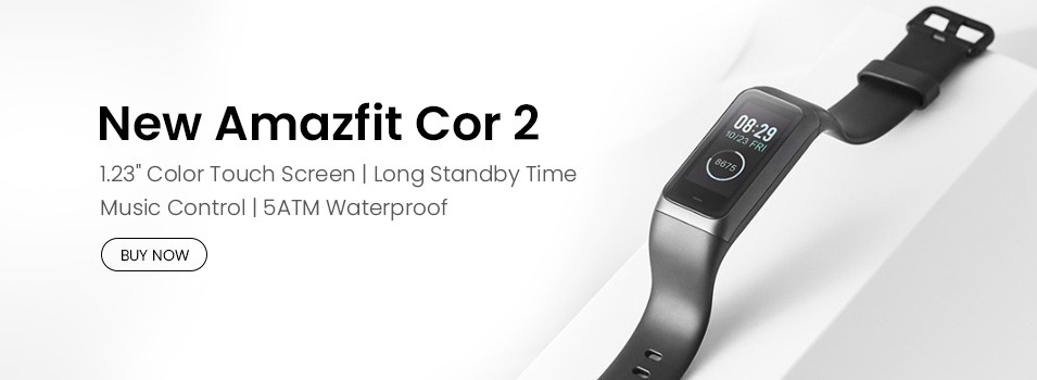Huami Amazfit Cor 2 Review 1