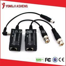 8pairs BNC to tj45 power video balun