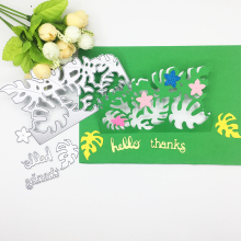 Julyarts Leaf Letter 2019 New Scrapbooking Cutting Dies Metal For Thanks Card Greeting