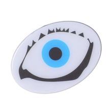 1 unidades de la Historieta Linda de Acrílico Broche del Pin Ojo Bigote Labio Collar en forma De Pin Pin de Solapa Hombres Mujeres Unisex Pin Joyería accesorios