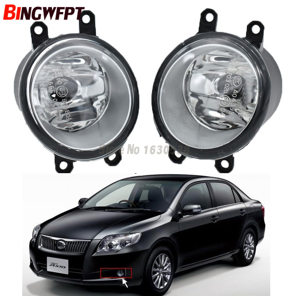 2pcs Set Left Right Car Styling High Quaity Halogen Lamps Fog Light For Toyota Corolla Axio 2008 2012 A8
