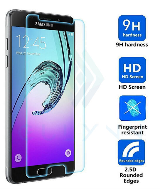 Samsung A5 2016 üçün SM-A510F qoruyucu eynək Samsung Galaxy A5 2016 ekran qoruyucu 9H sərtlik 2.5D