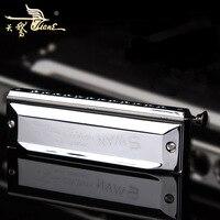 Swan harmonica 12 hole chromatic harmonica C 48 adult professional introduction to beginners children play the harmonica