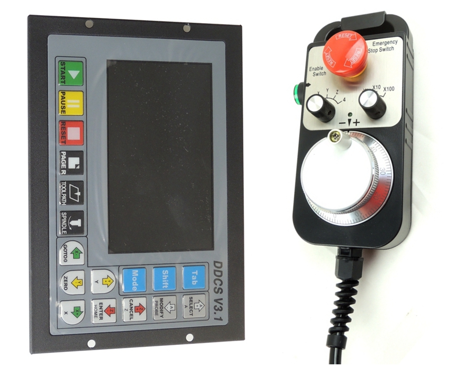 DDCSV3 1 CNC 3 4 Axis Offline Stand alone controller for Engraving Drilling Milling Machine 500KHz
