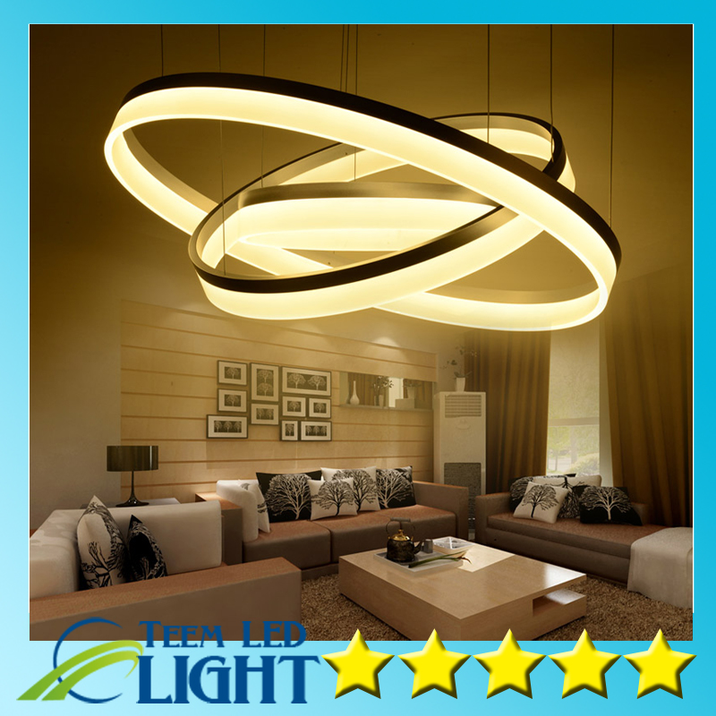 Modern LED living dining room pendant lights suspension luminaire suspendu led ring lighting lamp fixture de techo colgante пылесосы endever пылесос циклонного типа endever skyclean vc 580