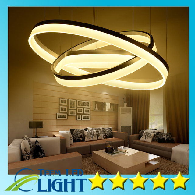 Modern LED Living Dining Room Pendant Lights Suspension Luminaire Best Modern Dining Room Pendant Lighting Property
