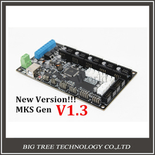 New Version!! MKS Gen V1.3 3D printer control board Mega 2560 R3 motherboard RepRap Ramps1.4 compatible, with USB