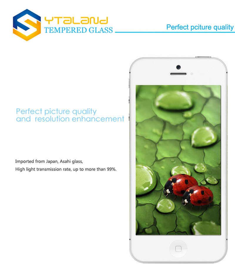 "Ytaland 9H + templado Premium Protector de pantalla de película de vidrio para LG X Venture película protectora endurecida para LG X Venture H700 5,2"""