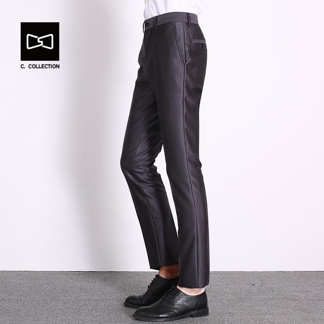 Men Suit Pants Trousers Slim fit Dress Pants for Men Suit Formal Pants Trousers Business Suit Trousers