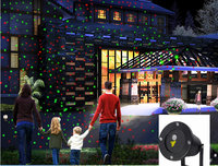 Remote control outdoor laser lamp lawn Christmas light landscape garden lamp