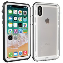 For iPhone Xs Max Waterproof case life water Shock Dirt Snow Proof Protection for iPhone X Xs case With Touch ID Cover for iphone xs max ip68 waterproof case water shock dirt snow proof protection for iphone xs with touch id case cover