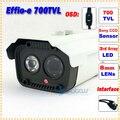 Oferta especial!! a terceira Matriz IR LED Night Vision-e Effio 700TVL Sony CCD Indoor/Outdoor Segurança CCTV IR Camera com Menu OSD