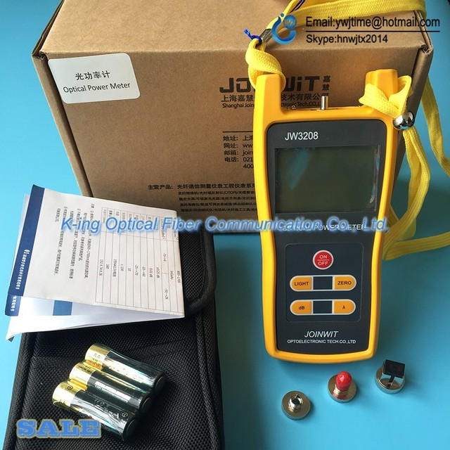 JOINWIT JW3208 Измеритель Оптической Мощности FTTH/SC/ST/FC три интерфейс оптический измеритель мощности-50 ~ + 26dBm