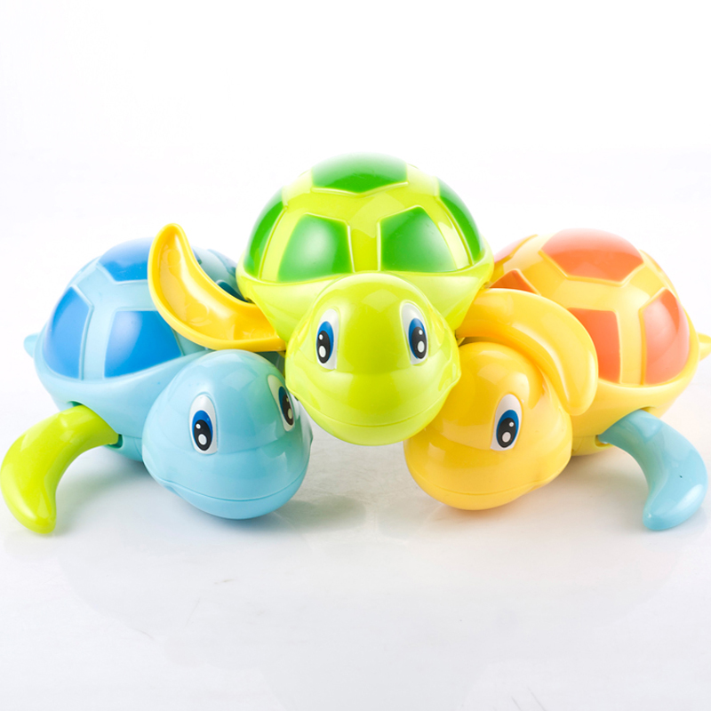 DUDU&DIDI Baby turtle wound-up chain small animal Bath Toy