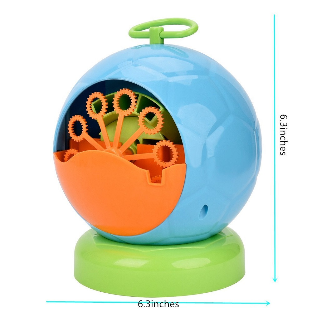 Automatic Toy Bubble Machine,Durable Bubble Maker Over 500 Colorful Bubble Per Minute For Kids,Xmas,Parties,Wedding,Birthday