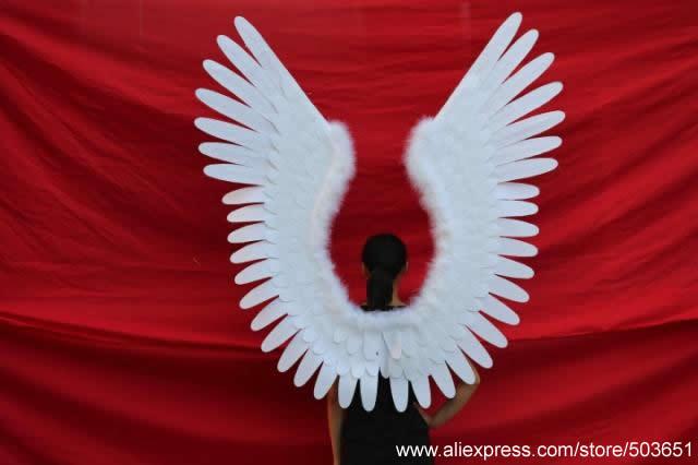 Grote maat wit engelenvleugels creatieve ambachten mooie decoratie