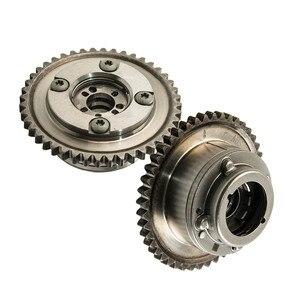 Image 3 - 2PCS Camshaft (Exhaust+Intake) Adjuster Actuator Cam Gears For MERCEDES C250 SLK250 1.8L 2710503347 2710502947 2710501400