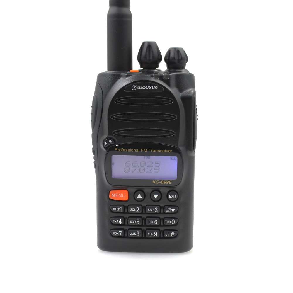 IP55 Waterproof walky talky professional Wouxun KG-699E 66-88MHZ High power Handheld Two way radio LCD display walkie talkieIP55 Waterproof walky talky professional Wouxun KG-699E 66-88MHZ High power Handheld Two way radio LCD display walkie talkie