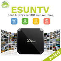 ESUN TV X96 Mini Europe Arabic IPTV UK SPAIN ITALY Germany Sweden Albania XXX Hotclub 2000