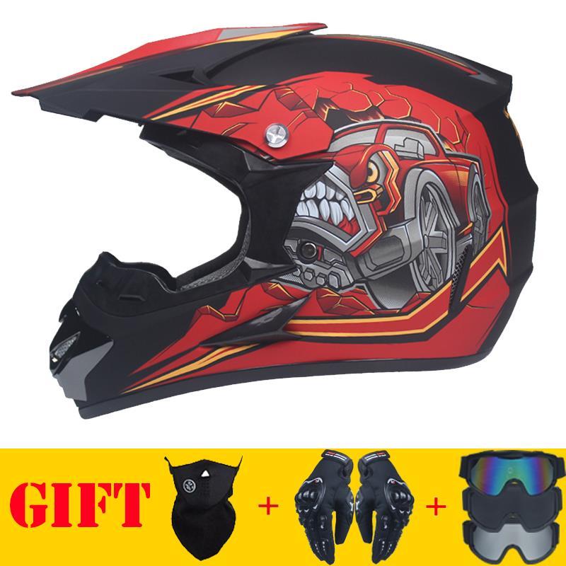 High-quality off-road helmet Motorcycle head protector Off-road race helmet ABS certification