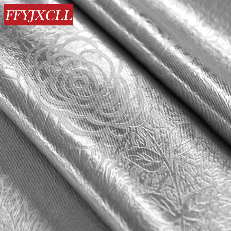 High Shading 85% Curtains Solid Color Jacquard Curtains Drapery for Living Room Bedroom Window Tulle Fabrics for Kitchen