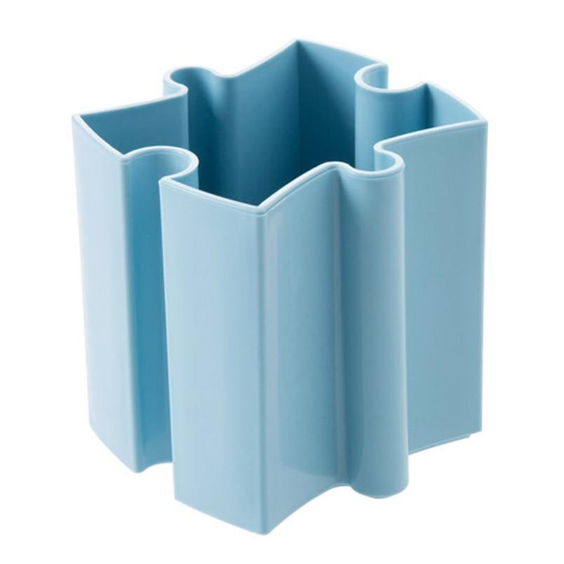 Tenske box plastic 2017 Desk Desktop Offices Storage Box Cosmetic Organizer Holder Pen Holder*30 GIFT Drop shipping