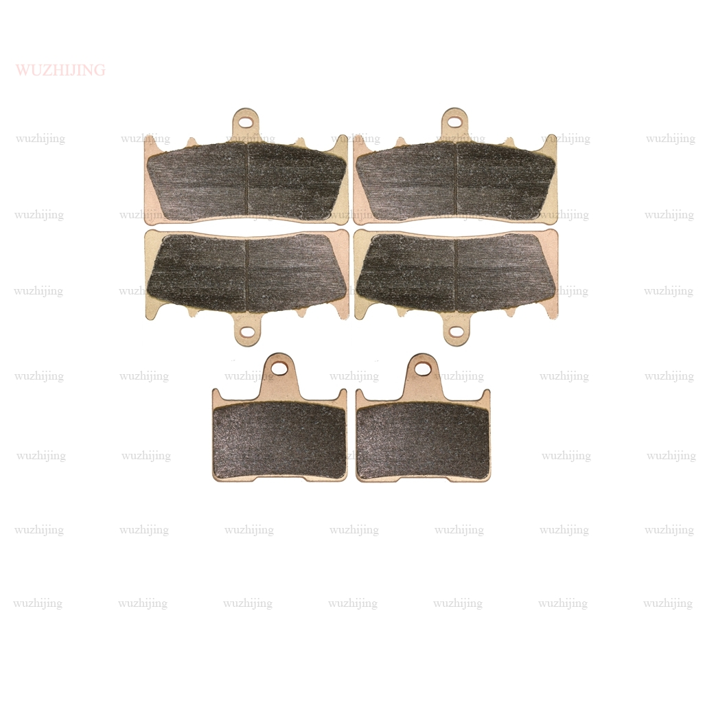 Для SUZUKI GSX 1400 GSX1400 2001 - 2007 набор тормозных колодок Передняя и задняя 2006 2005 2004 2003 2002