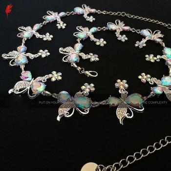 Crystal belly dance belt fashion hip scarf women stones chain girls accessories - discount item  12% OFF Stage & Dance Wear