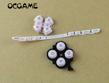 OCGAME 20set/lot multi-color 3 in 1 full set LR keypad button with volume cable for psp2000 PSP 2000 console