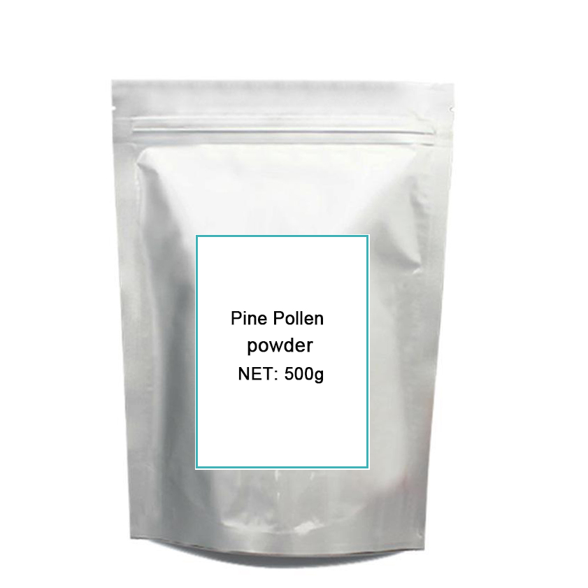 500g Organic Pine Pollen Po-wder 99 Percent Broken Cell Wall for Optimal Absorption and Potency gmp certified banana freeze dried po wder 500g