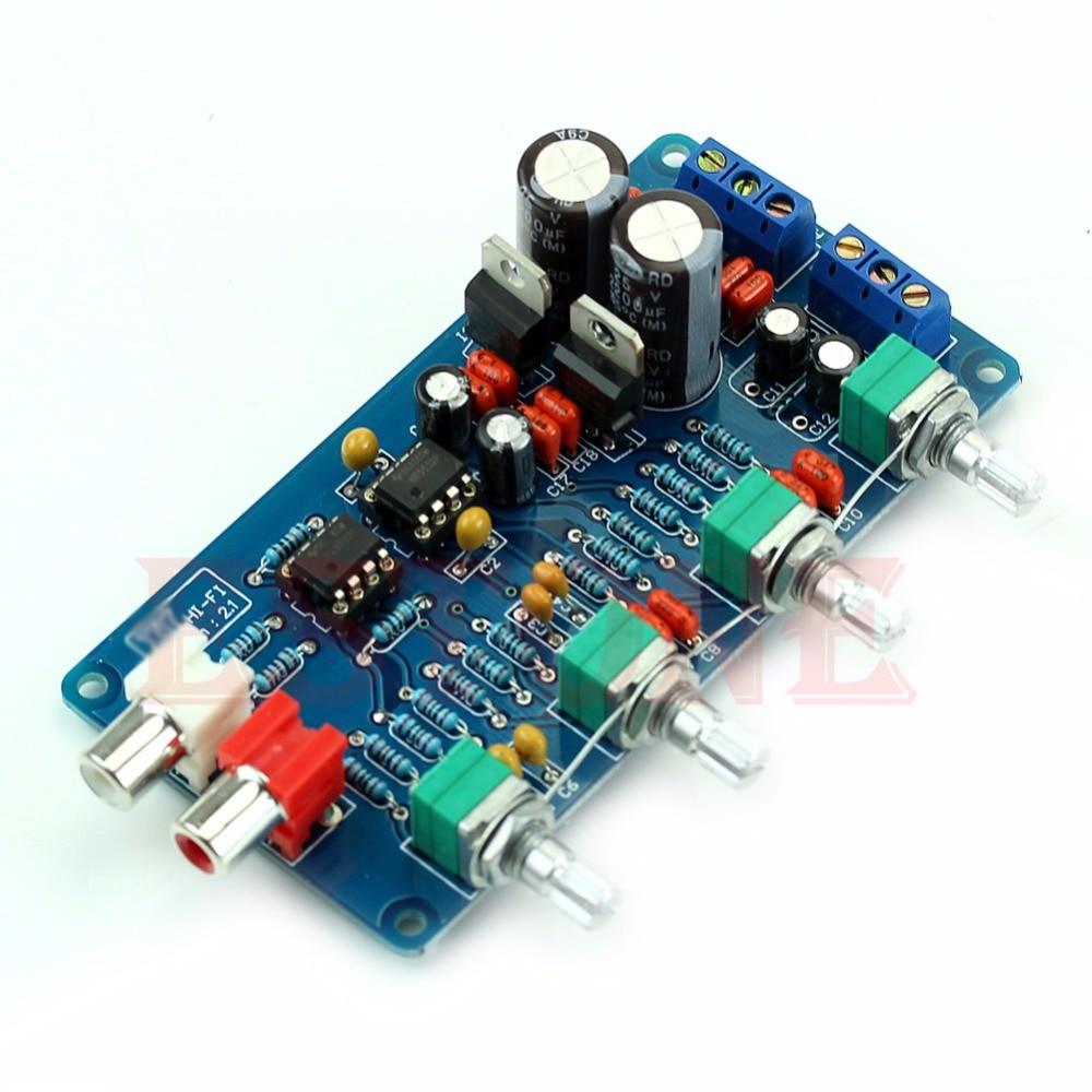 Pre Tone Control Circuit