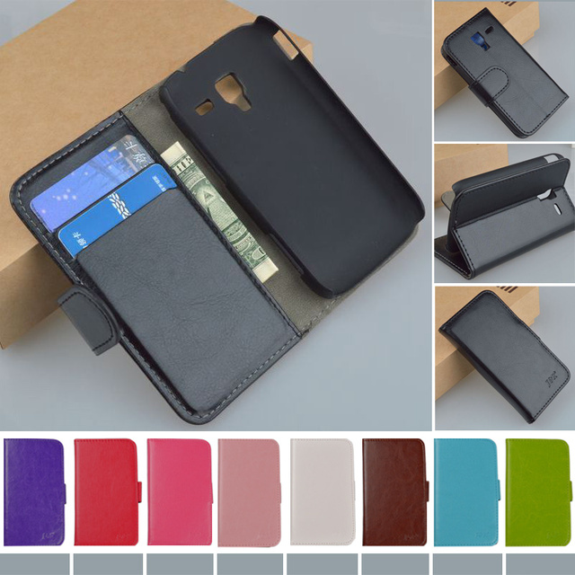 JR Flip Original Leather Case For Samsung Galaxy Ace 2 i8160 8160 Gt-i8160 Cover Business style Original Phone cases
