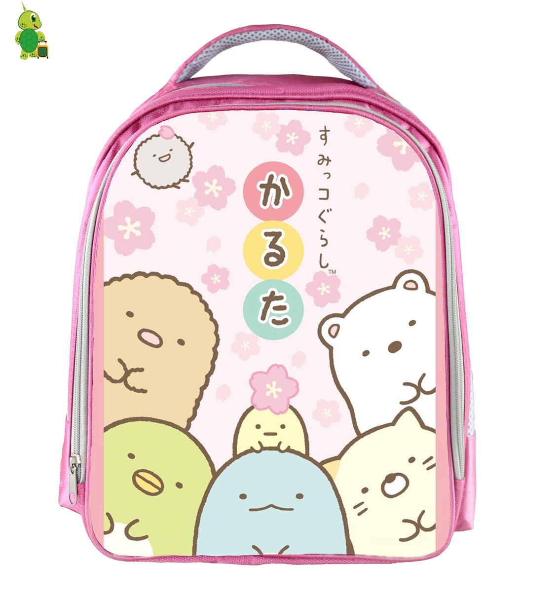 Funny Sumikko Gurashi Small Backpack Cartoon School Bags For Girls Kids Toddler Bags Waterproof Travel Shoulder Bags