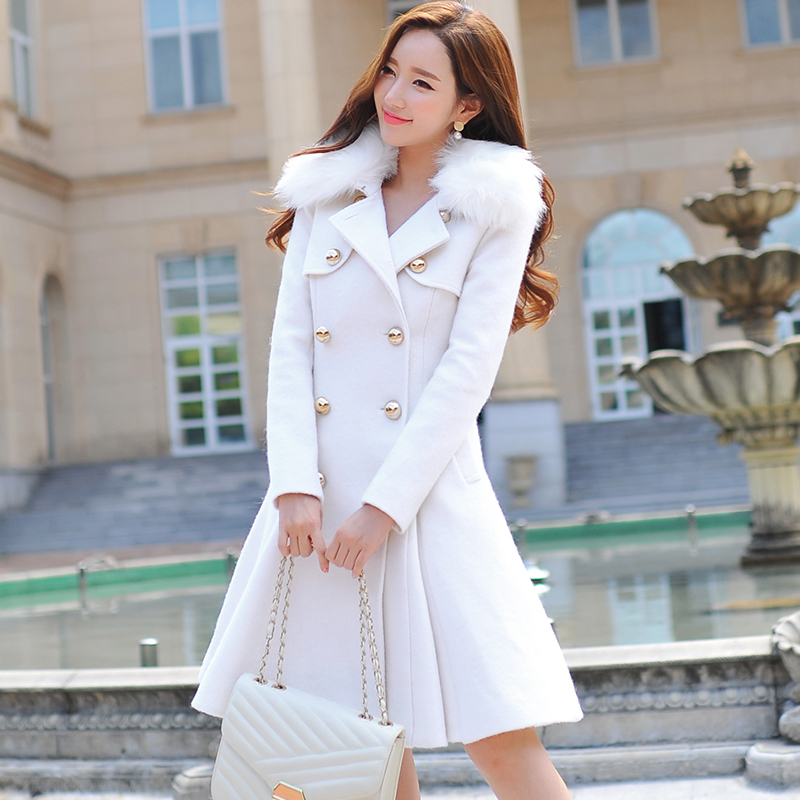 Original 2016 Brand Autumn Winter Size Removable Fur