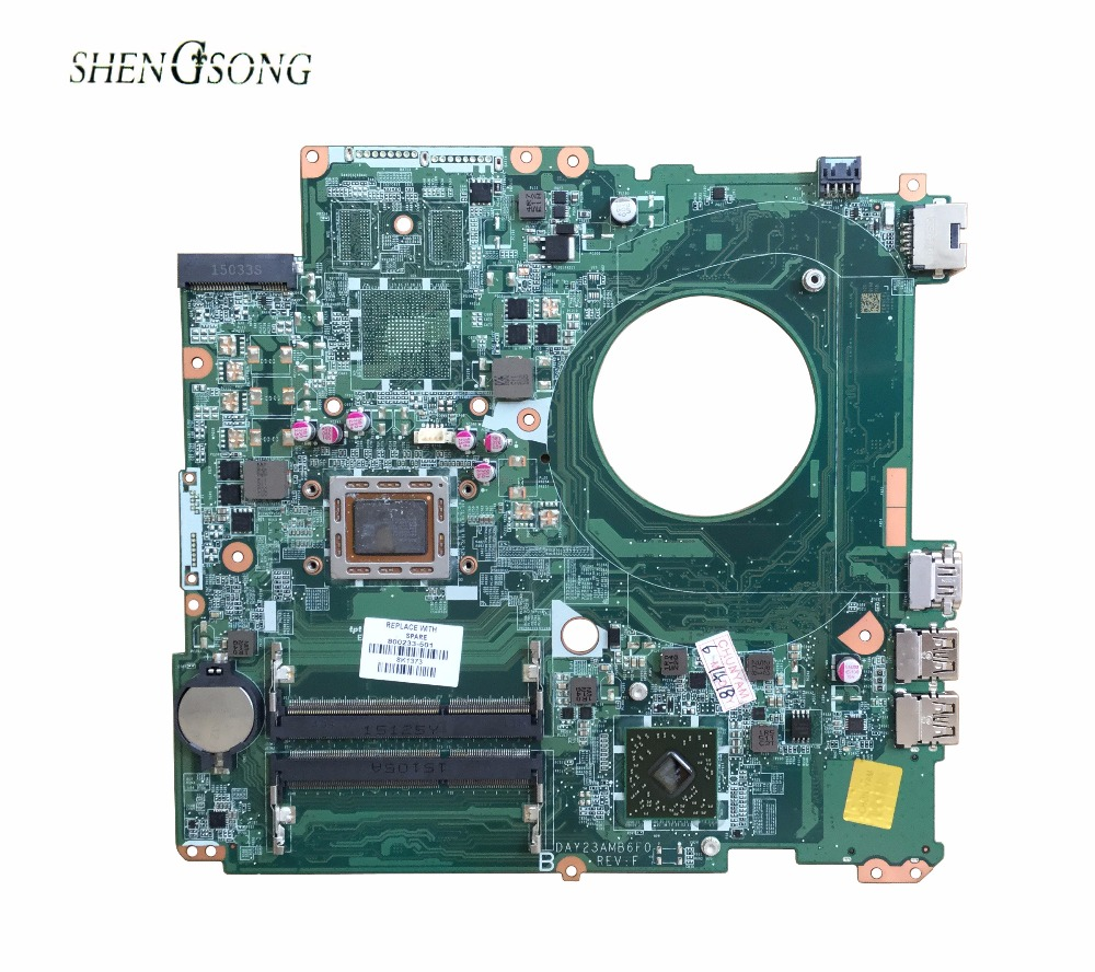 800233-001 Free Shipping DAY23AMB6F0 REV:F laptop motherboard 800233-501 FOR HP PAVILION 17-F motherboard A10-4655M CPU ytai a10 4655m for hp pavilion 15 15 n laptop motherboard 737138 501 737499 501 a10 4655m cpu da0u92mb6d0 mainboard fully tested