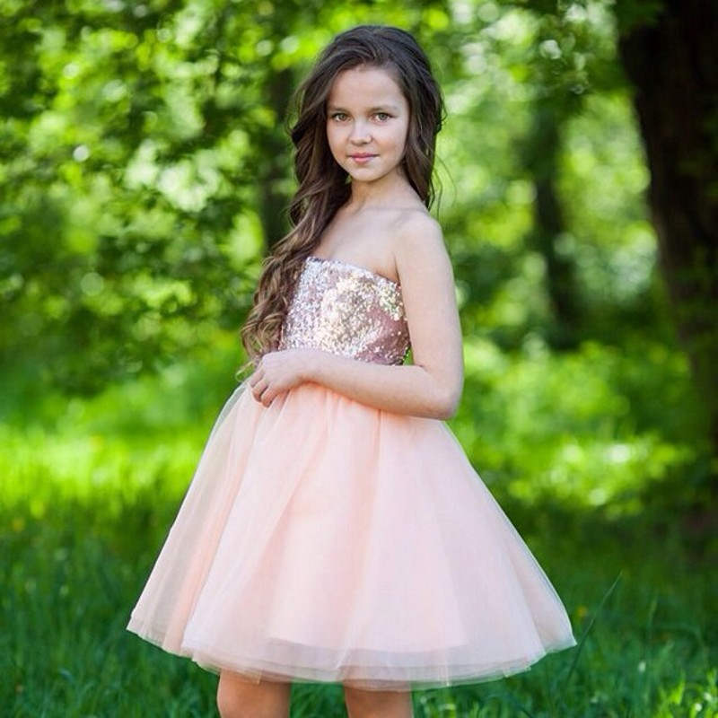 Compare Prices on Little Girls Strapless Dresses- Online Shopping ...