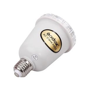 Image 3 - Godox A45s Photo studio electronic flashing lights Photo Studio Strobe Light AC Slave Flash Bulb E27 A45S