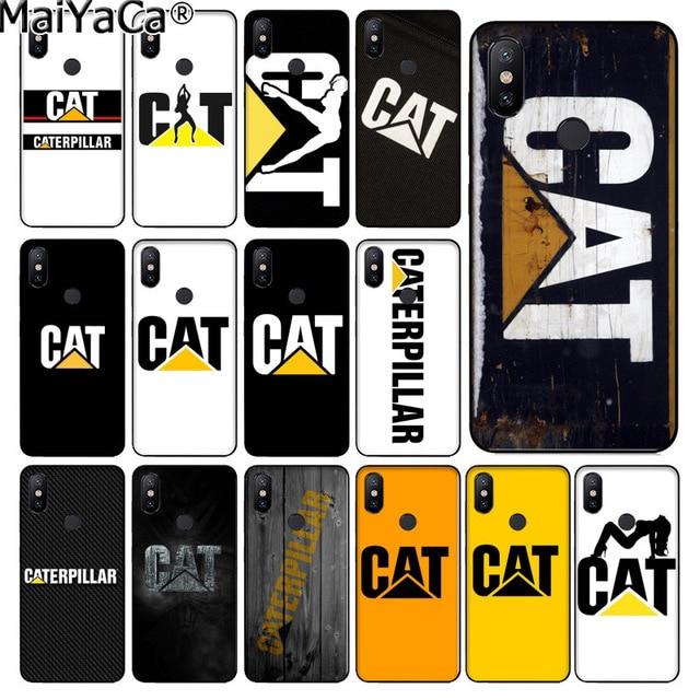 newest 14ffa d06e9 US $1.41 29% OFF|MaiYaCa Caterpillar LOGO Custom Photo Soft Phone Case for  xiaomi mi 6 8 se note2 3 mix2 redmi 5 5plus note 4 5 5 case coque-in ...