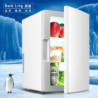 Морозильная камера портативный холодильник для тс 18L мини холодильник с двухцелевым электронным охлаждением и нагревательным боксом для д