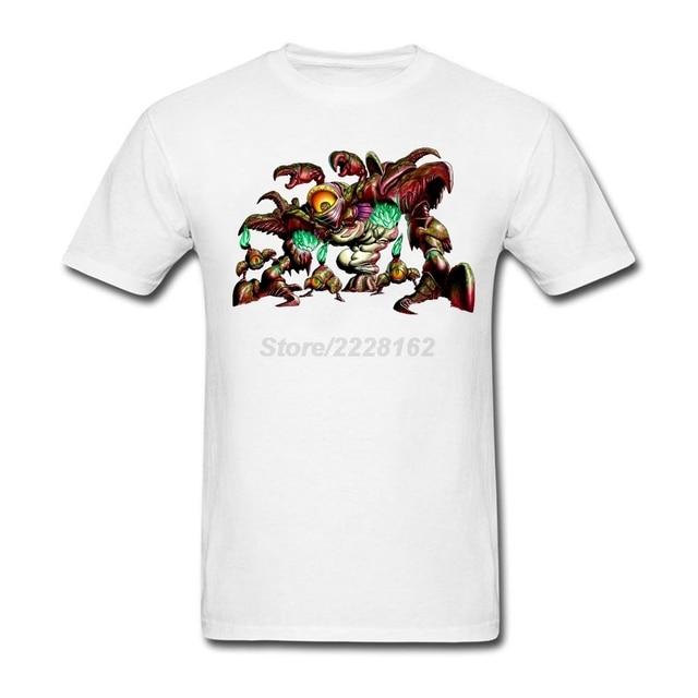 cd449601f689e Rainha Gohma Monstro Dos Desenhos Animados mens camisa Branca de t Criar  música rock Camisetas com