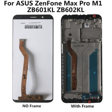 For ASUS ZenFone Max Pro M1 ZB601KL ZB602KL LCD Display+Touch Screen Digitizer Assembly Replacement цена