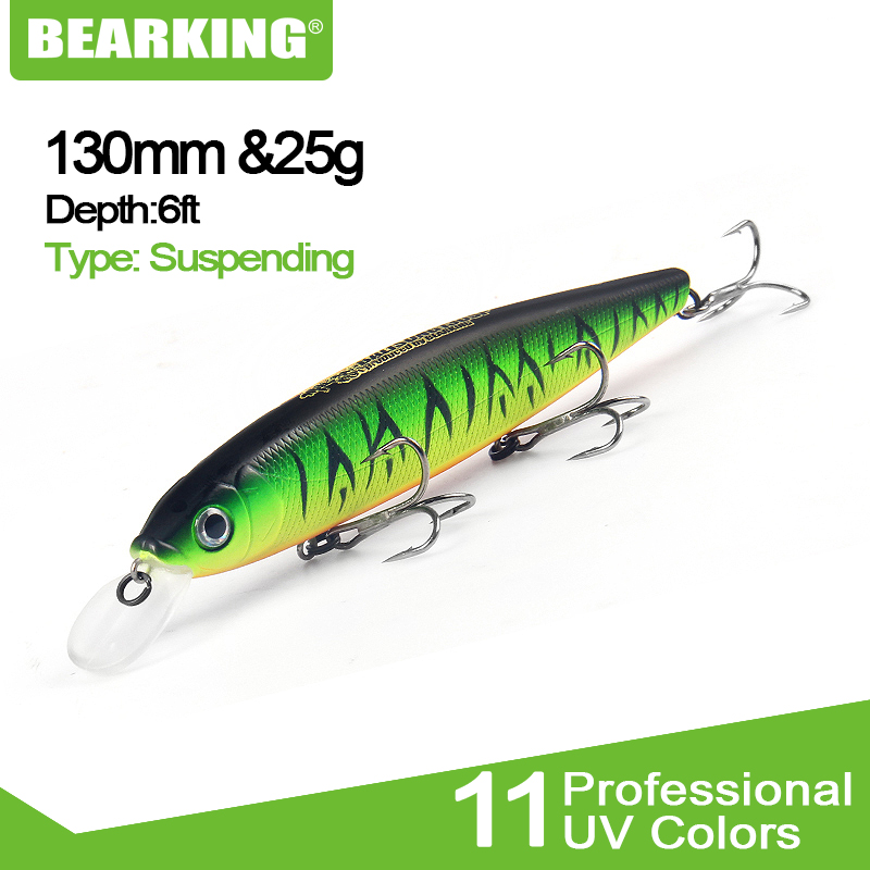 Bearking Fishing Lures Baits Minnow-Quality Tungsten Ball Penceil Hot-Model Professional