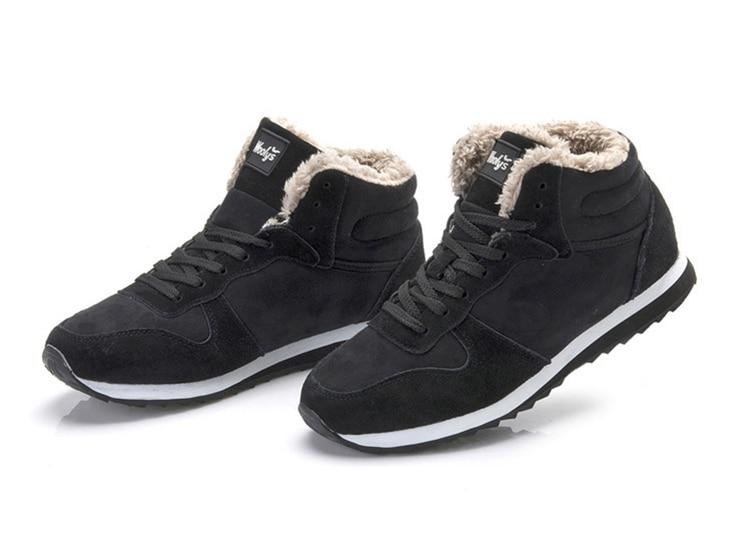Herbst Winter Herren Schuhe Kurze Plüsch Warme Schnee Stiefel Zipper Stiefeletten Stiefel Flache Weiche Warm Halten Outdoor Home Casual Schuhe für