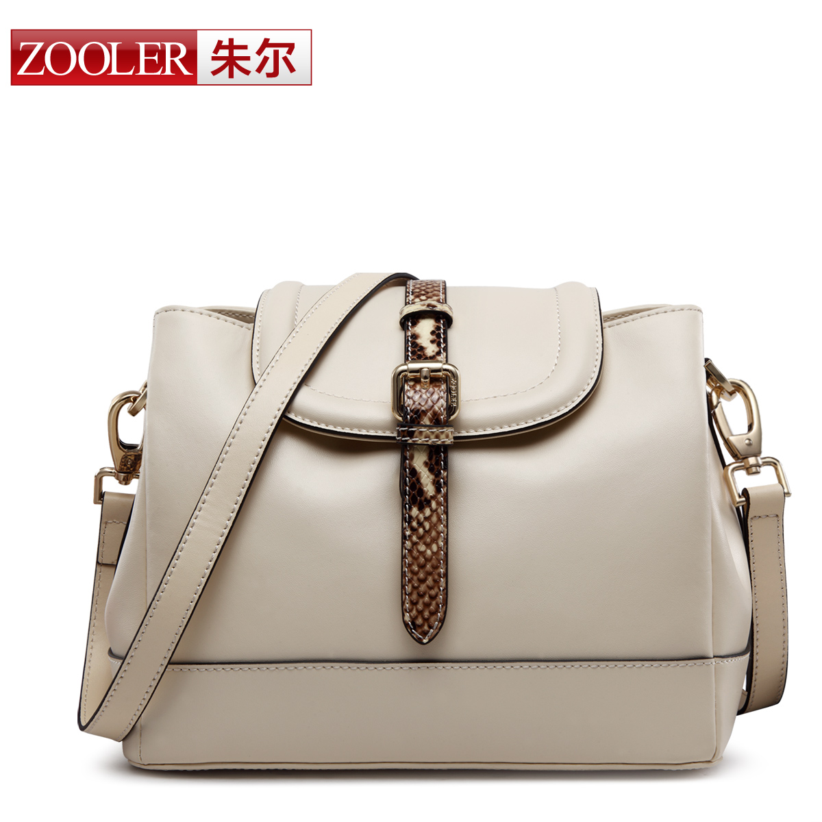 ФОТО amazing best price for you,ZOOLER BRAND Genuine Leather bag bags Handbags women Shoulder bags OL Style women bag #6081