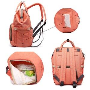Image 4 - 여성 배낭 여성 대형 기저귀 배낭 멀티 포켓 다기능 엄마 배낭 여행 가방 엄마 기저귀 가방 SD 067