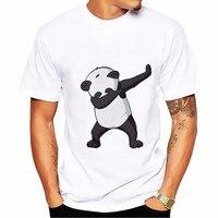 Dab Dance Panda T Shirt WOMEN Men O Neck Breathable Tee Shirts Homme Short Sleeve Casual