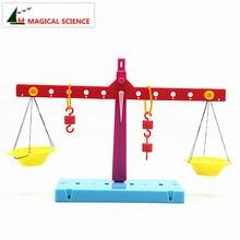 Пластиковый образовательный Рычаг Принцип весы эксперименты DIY Материал обучение физике для детей студентов