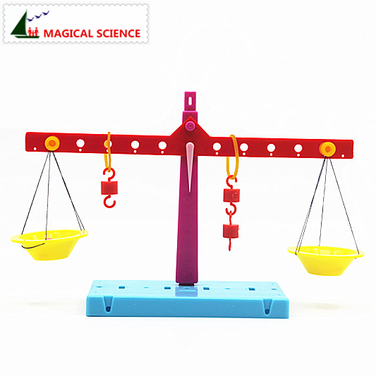 Wholesale Plastic Educational Lever Principle Balance Scale Experiments Diy Material Physics Teaching For Kids Students